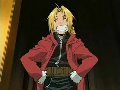 Edward Elric when it comes to mostrando off with his alchemy ^-^