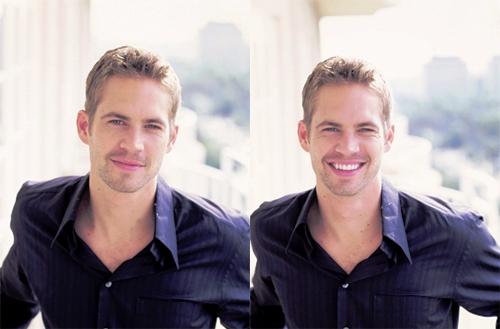 Paul's happy,beautiful smile<3
