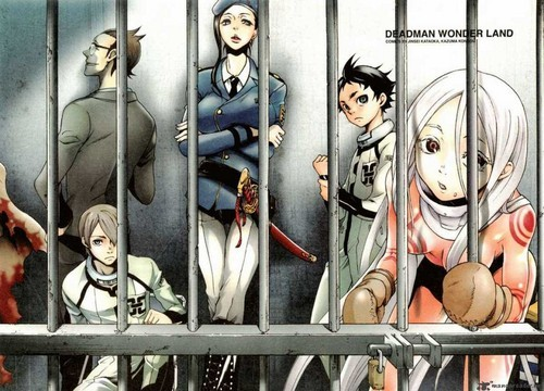 Deadman Wonderland .. My anime life would end within a hari XD
