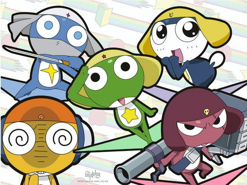The Kerero Platoon - Sgt . Frog