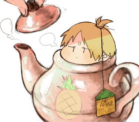 Can it be a پرستار art? I guess so... Miyaji-senpai in chibi form! ( I guess )