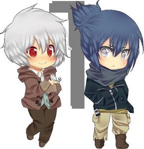 Shion and Nezumi-No.6 <3