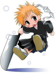 Ichigo from Bleach.