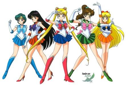 Sailor scouts!! ^_^ ~Sailor Moon 🌙