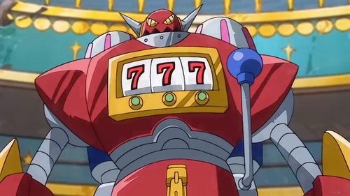 Jackpot MK-2 from Fairy Tail X Rave Master.