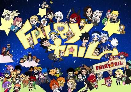 Fairy Tail in chibi form!