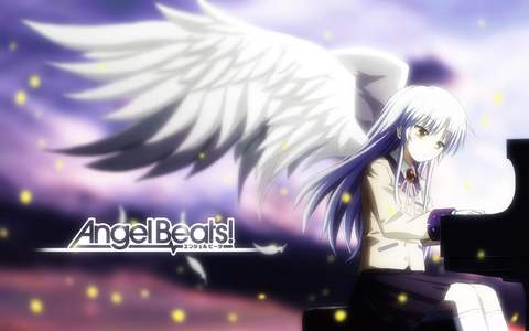 "Angel from ""angel beats"""