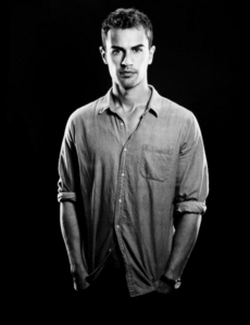 my sexy Theo in a shirt<3