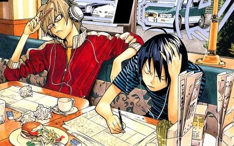 Takagi and Seiko - Bakuman