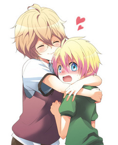 natsuki and syo... though they have other gud frnds they both kno each other really well ~prince sama its a fan art!