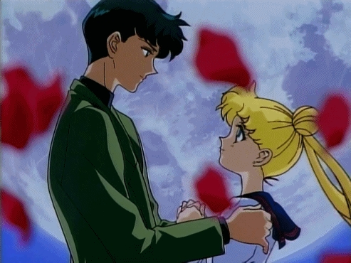 My OTP is Harry and Draco from Harry Potter but that is non-canon but I have a canon pairing which is Serena and Darien from Sailor Moon.