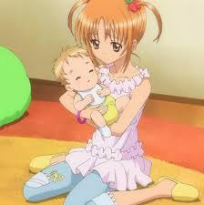 Yaya with her little brother Tsubasa from Shugo chara! :)