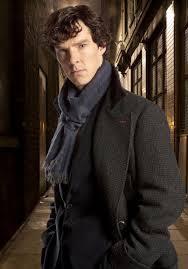 Benedict Cumberbatch as Sherlock. So hot!