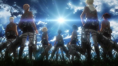 I relish everything that is Attack on Titan.