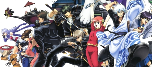 gintama is the anime that does it all for me X3 Every episode/chapter, even the one shots I can't get enough of it. It's like at first your watching the funniest most ridiclous anime you've ever seen then it turns into one of the bloodiest action, then comes the drama with the most corazón wrenching stories that'll make tu cry because of the feels.... The way gintama plays with emotions is how it does it all for me X3 ~to sum it all up, when I think of Gintama.... *Muramurashimasu* XD