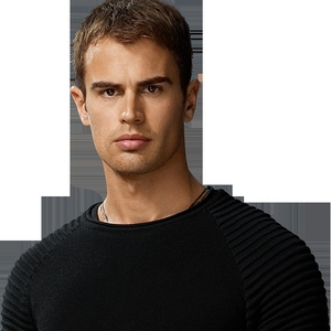 this isn't a full view,but I have a cardboard cutout of Theo from Divergent,which I bought last week,after seeing Divergent(again)<3