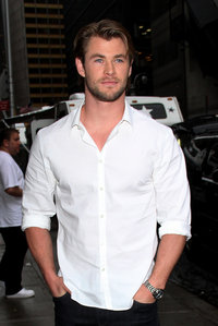 Chris Hemsworth,who is not only busy filming فلمیں but recently became a daddy to twin boys,Tristan and Sasha<3