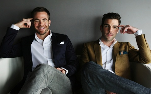 Chris and Zach<3