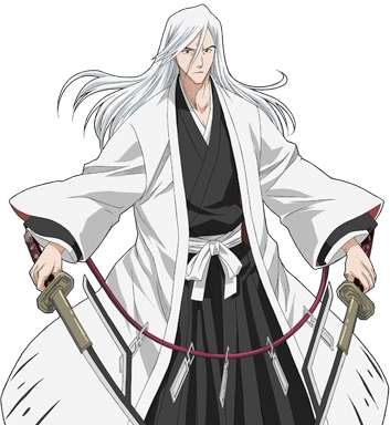 Jushiro Ukitake (Bleach) Jushiro is best of Honorable and noble man in the whole soul society kindest and powerful captain of all.............