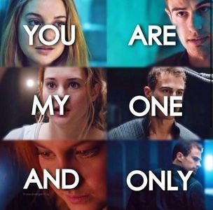 Tris and Four from Divergent<3