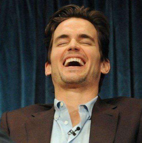 Matt at the Paley Fest 2011, cracking up about something that has been कहा <333333