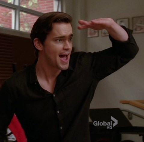 """another one from """"Glee"""", with Matt गाना """"Rio"""" <33333"""