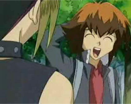 I feel the need to post the ultimate Slifer Slacker Jaden Yuki from Yugioh GX . Simply put it's not that he's stupid it's just that he practically sleeps in every single class and is too focused on dueling to every do class work .