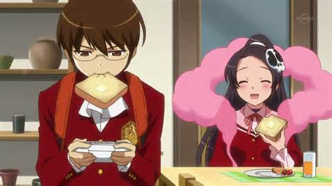 Keima Katsuragi God of Conquest lol XD