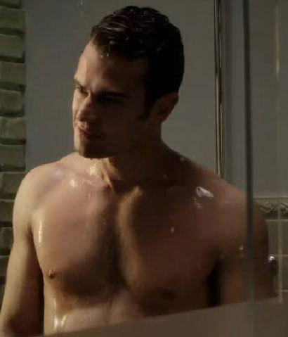I wanna lick and bite Theo's yummy nips<3