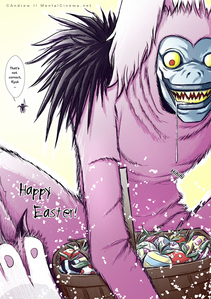 HAPPY EATER HUNTINGS!!! Ryuk from death Note