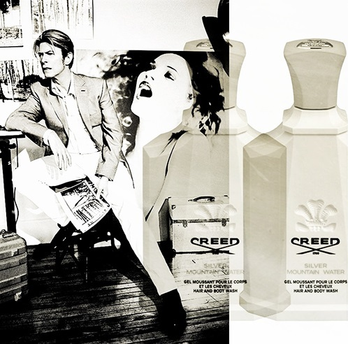 I KNOW how Bowie smells like (read it somewhere) - Silver Mountain Water sa pamamagitan ng Creed. Freakin expensive stuff