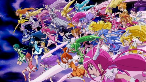 Pretty Cure All Stars New Stage 2: Kokoro no Tomodachi! Pretty Cure! Do your best!