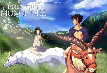 Princess Mononoke & All Hayao Miyazaki Anime Filme
