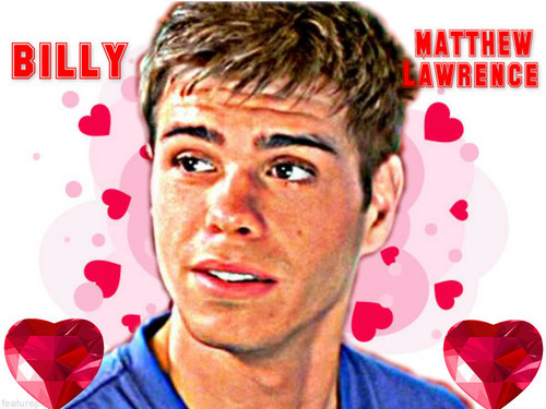 Matthew with Liebe hearts <33333333