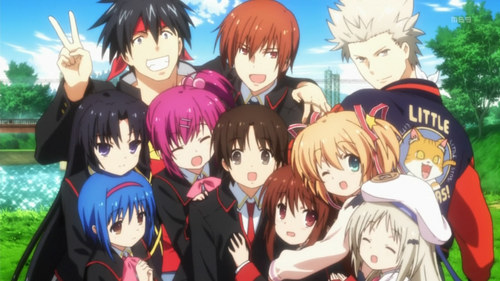 all the girls from little busters!