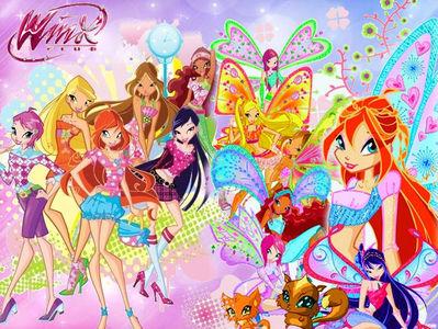 My favourite ipakita is winx club.I really enjoy that show.