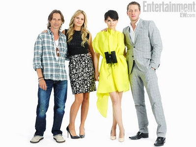 Bobby with his OUAT partners