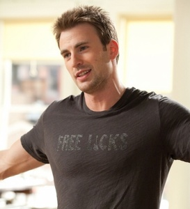 Chris Evans... *sigh* I'll totally take one. (Look at his t-shirt and gesture.) so inviting. And I don't like this guy just cause of his looks, 또는 the fact that he's an actor. He's genuine, honest, and hella funny. ;)