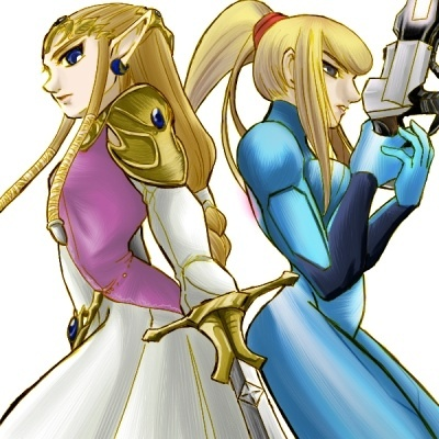 """Samus and Zelda. They're both amazing women in the 任天堂 universe. They deserve もっと見る love, not because they're """"hot"""" または """"they have nice boobs lololol i would tap dat"""", but because they're strong and can handle things on their own. Women's rights, yeah!"""