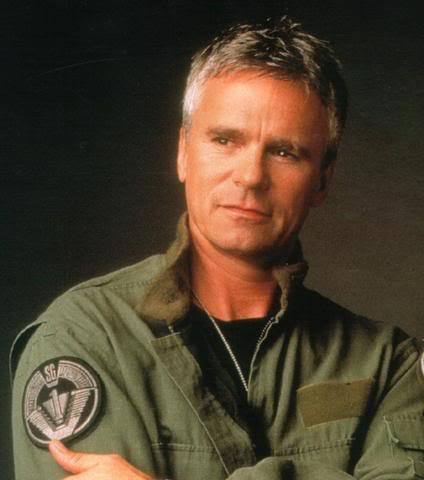"""Richard Dean Anderson: Picture in one of his """"Stargate SG-1"""" Uniforms."""