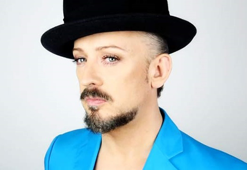 Boy George is an adorable person