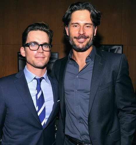 Matt with Joe Manganiello, one of his best buddies (they know each other since attending Carnegie Mellon) <3333