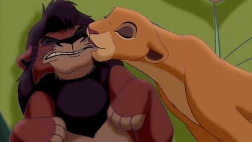 Kovu and Kiara- The Lion King II: Simba's Pride