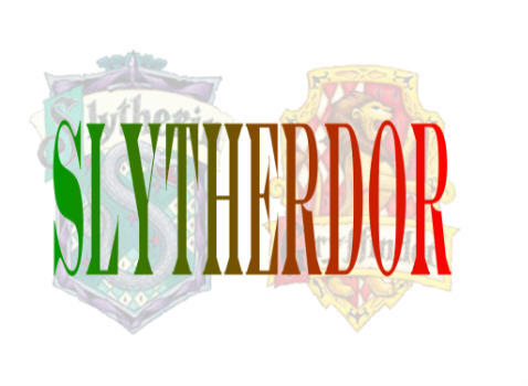 I'm a Slytherdor :) an ironic mix don't toi think? Arrogant and have a short temper, but also cunning and brave.... I think it fits my personality quite well...