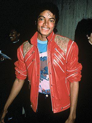 "I've always loved the ""Beat It"" jacket! :))"
