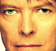David Bowie: One of his eyes has a pupil that is always dilated. It makes it seem like he has 2 different colour eyes.