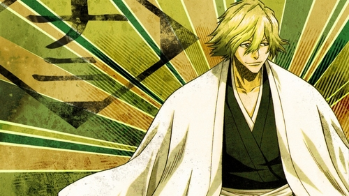 Kisuke Urahara (Bleach) his brilliance is out of the world...........he he eh eh and he created the department of research and development........he he he he his creations r unbelievable........eh he eh eh