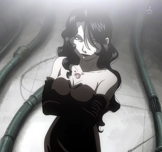"""I couldn't possibly choose one. I'll give anda a few of mine: """"Bloodshed begets bloodshed. Hatred begets hatred. The rage and emotion sinks into the land and stains it with the crest of blood. No matter how many times they repeat themselves, they never learn. These sad fools..."""" - Lust from Fullmetal Alchemist """"With kindness comes naivete. Courage comes foolhardiness. And dedication has no reward."""" - Homura Akemi from Puella Magi Madoka Magica """"The only ones who should kill are those who are prepared to be killed!"""" - Lelouch vi Britannia from CODE GEASS """"You can't change the world without getting your hands dirty."""" - Lelouch vi Britannia from CODE GEASS """"A good person, huh... Well, I don't really like this way of putting it. Because, anda know, I feel like these words are simply what people use to call those who are convenient for them. And no one can be convenient to all."""" - Armin Arlert from Shingeki no Kyojin (manga translation)"""