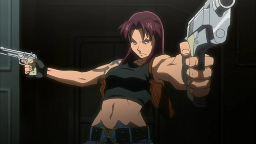I just started watching the show, and I can tell Ты that Revy from Black Lagoon could use 'em.