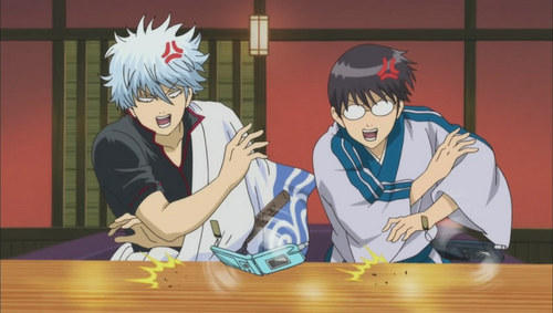 Gintoki and Shinpachi from 《银魂》